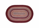 Tapestry Red Wine Braided Rugs - Rhody Rug