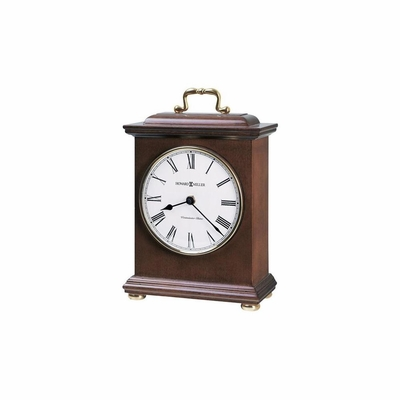 Tara Chiming Mantel Clock in Windsor Cherry - Howard Miller