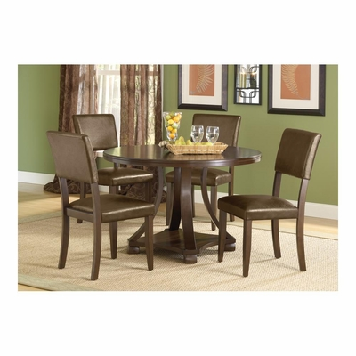 Tarranto Dark Cherry 5-Piece Dining Set - Hillsdale