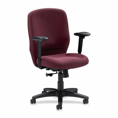 Task Chair - Burgundy - LLR60323