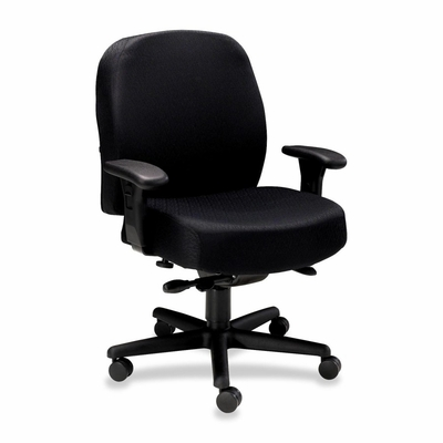 Task Mid-Back Chair - Black - HON3528NT10T