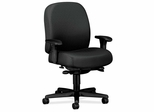Task Mid-Back Chair - Charcoal Gray - HON3528NT19T
