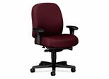 Task Mid-Back Chair - Wine - HON3528NT69T