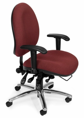 Task Office Chair - 24 Hour Computer Task Chair Hi-back - OFM - 247