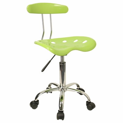 Task Office Chair in Apple Green - LF-214-APPLEGREEN-GG
