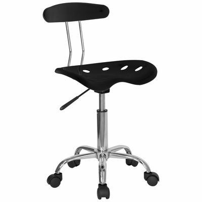 Task Office Chair in Black - LF-214-BLK-GG