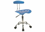 Task Office Chair in Bright Blue - LF-214-BRIGHTBLUE-GG