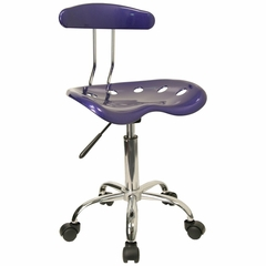 Task Office Chair in Deep Blue - LF-214-DEEPBLUE-GG