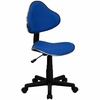 Task Office Chair with Blue Fabric - BT-699-BLUE-GG