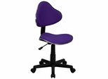 Task Office Chair with Purple Fabric - BT-699-PURPLE-GG