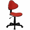 Task Office Chair with Red Fabric - BT-699-RED-GG