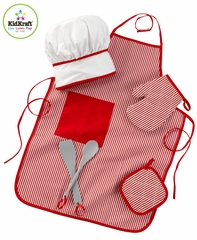 Tasty Treats Chef Access Set Red - KidKraft Furniture - 63197