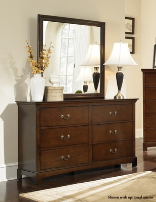 Tatiana Transitional Six Drawer Dresser - 202393