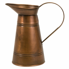 Tauba Copper Pitcher - IMAX - 44080