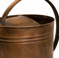 Tauba Large Oval Copper Watering Can - IMAX - 44088