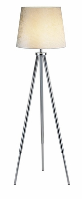 Taulouse Chrome Floor Lamp - Adesso - 6416-22