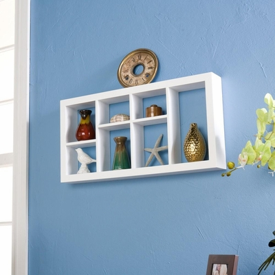 SEI Taylor Display Shelf White 24