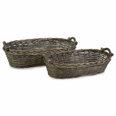 Taylor Willow Baskets (Set of 2) - IMAX - 67096-2