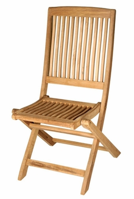 Teak Folding Chair without Arms (Set of 2) - Antonini Outdoor - NS02000-SET