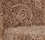 "Teak, Scarlet and Green Paisley Tapestry ""Slip Over"" (Fits 741-440 Chair) - Powell Furniture - 741-213Z"