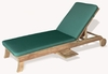 Teak Sunbed (Lounger) with Cushion - Antonini Outdoor - NL01000