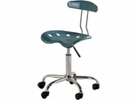 Teal Tractor Seat Task Chair