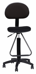 Technical Multi-Task Stool in Black - Mayline Office Furniture - 2610085