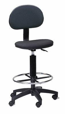 Technical Multi-Task Stool in Black - Mayline Office Furniture - 2660085