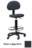 Technical Multi-Task Stool in Gray - Mayline Office Furniture - 2660066