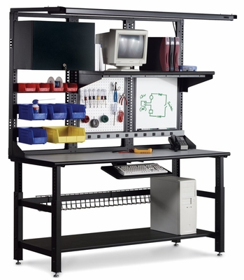 Techworks Workstation - Mayline Office Furniture - TECHWORKS