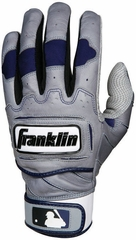 TECTONIC PRO Batting Glove Gray / Navy - Franklin Sports