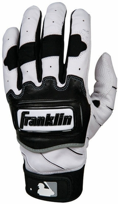 TECTONIC PRO Batting Glove Pearl / Black - Franklin Sports