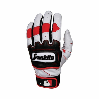 TECTONIC PRO Batting Glove Pearl / Red - Franklin Sports
