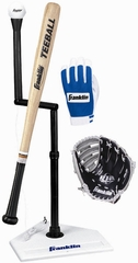 "Teeball Set with 10.5"" Glove - Franklin Sports"