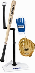 "Teeball Set with 9.5"" Glove - Franklin Sports"