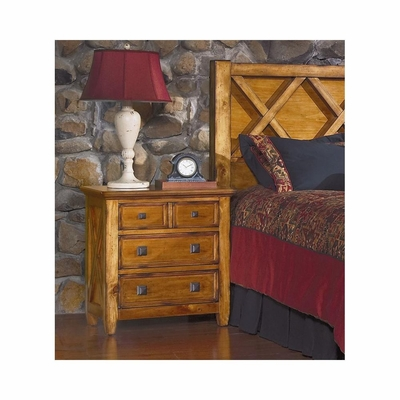 Telluride Nightstand Weathered Pine - Largo - LARGO-ST-B9561-40
