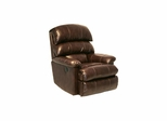 Templeton Leather Wall Hugger Recliner in Hershey - Catnapper