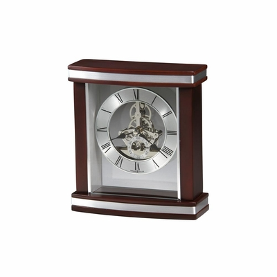 Templeton Rosewood Table Clock - Howard Miller