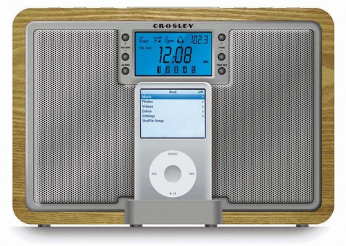 Tempo Tabletop Radio - Crosley - CR02-001A-NA