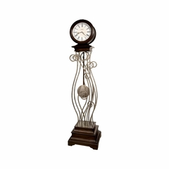 Tennille Floor Clock with Quartz Movement - Howard Miller