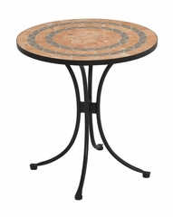 Terra Cotta Bistro Table in Terra Cotta - Home Styles - 5603-34