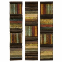 Tevek Wall Panels (Set of 3) - IMAX - 87213-3