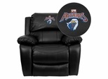 Texas at Tyler Patriots Embroidered Black Leather Rocker Recliner  - MEN-DA3439-91-BK-41103-EMB-GG
