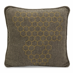 Thaddeus Herringbone Pillow - IMAX - 42096
