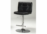 Thames Adjustable Gas Lift Stool in Black - Entree by APA Marketing - MAL-12BK