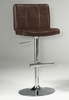 Thames Adjustable Gas Lift Stool in Saddle - Entree by APA Marketing - MAL-12BW