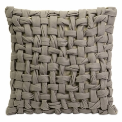 Thatcher Woven Twist Felt Pillow - IMAX - 42108