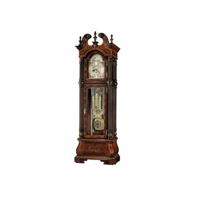 The J.H. Miller II Windsor Cherry Grandfather Clock - Howard Miller