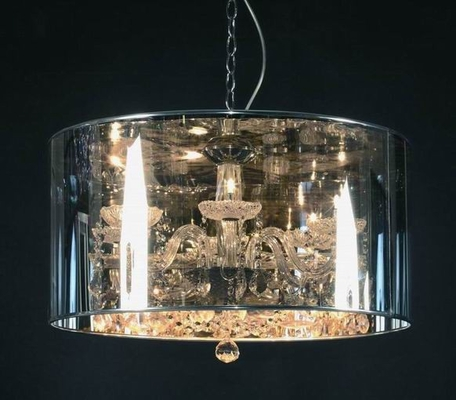 The Mystique Pendant Lamp in Chrome - SP50