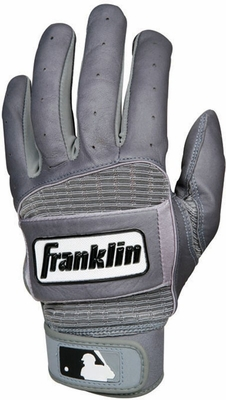THE NATURAL Batting Glove Gray - Franklin Sports